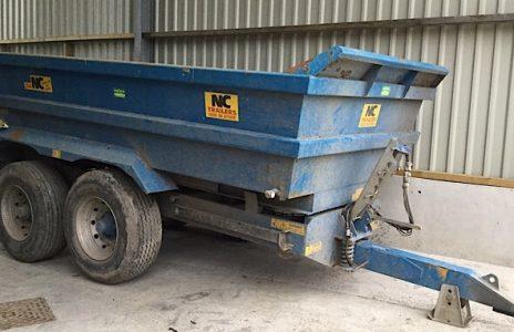 NC 314 dump trailer